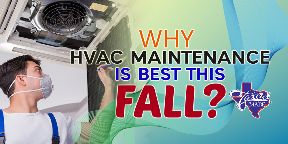 Why HVAC Maintenance Is Best This Fall