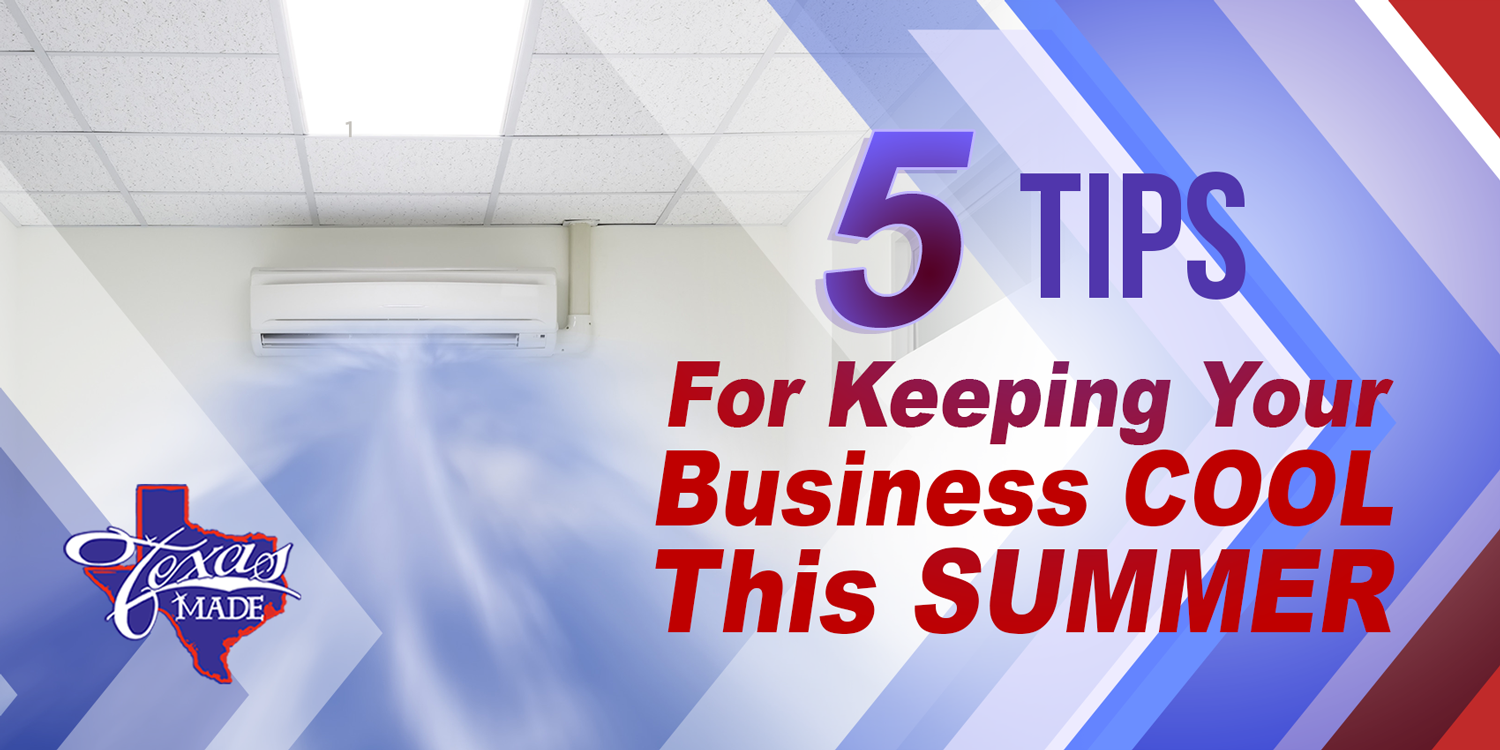 5 Tips for Keeping Your Business Cool This Summer