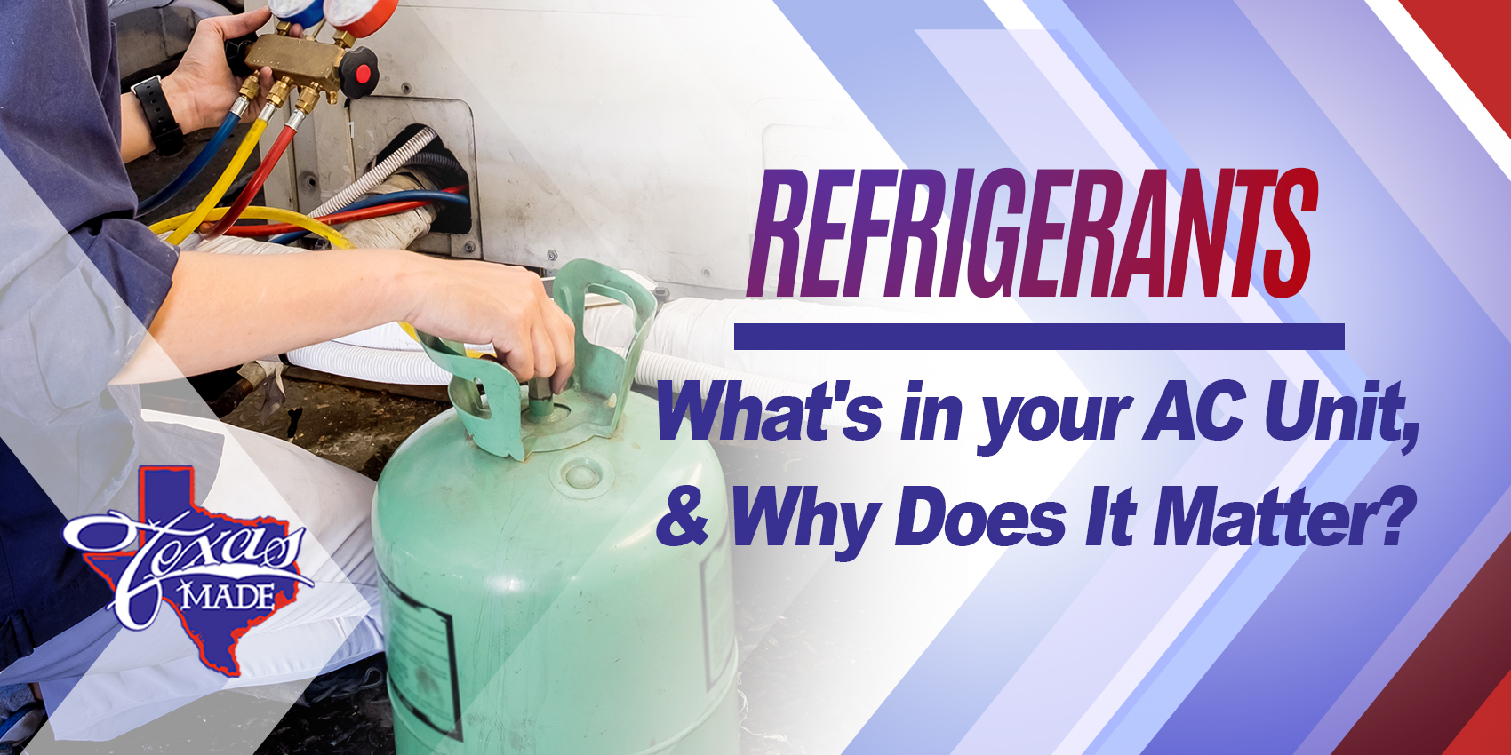 Refrigerants - What's in your AC Unit, and Why Does It Matter?