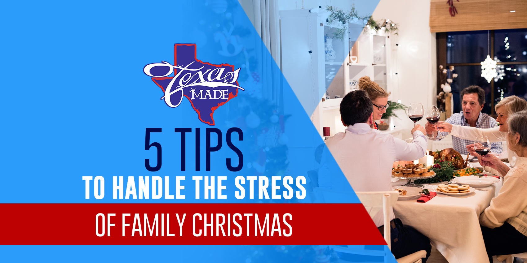 5 Tips to Handle the Stress of Family Christmas